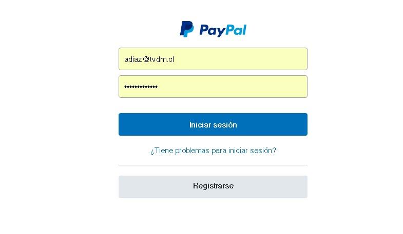 Cómo ingresar los datos de la tarjeta a la cuenta Paypal
